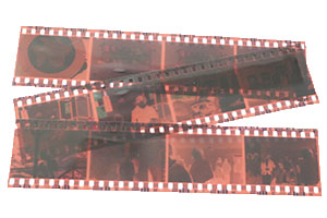 photo of 35mm negatives for negatives to digital pricing page